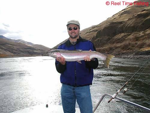 Steelhead reel time fishing for Snake river fishing report
