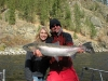 Reel Time guide Travis Wendt and Jenny Buckner