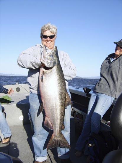 Linda's 45lb Up River Bright King
