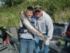 Reel Time guide John Albrich and son Conner