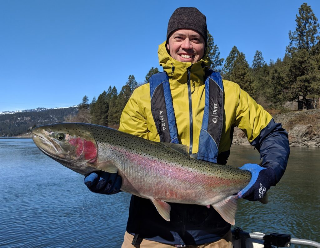 We invite you to fish with us for some of the world's finest Steelhead fishing left in the lower 48 States. Reel Time Fishing offers guided Steelhead fishing on the Clearwater, Snake, and Grande Ronde Rivers. We are your premiere Idaho steelhead fishing guides.