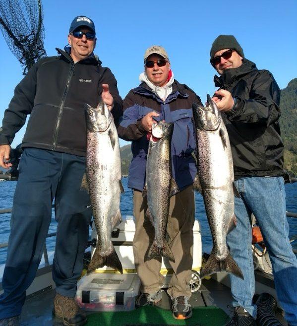 guided fishing drano lake